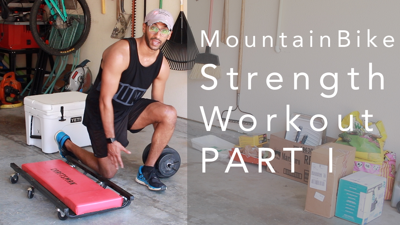 Mountain Bike Strength Workout Pt 1