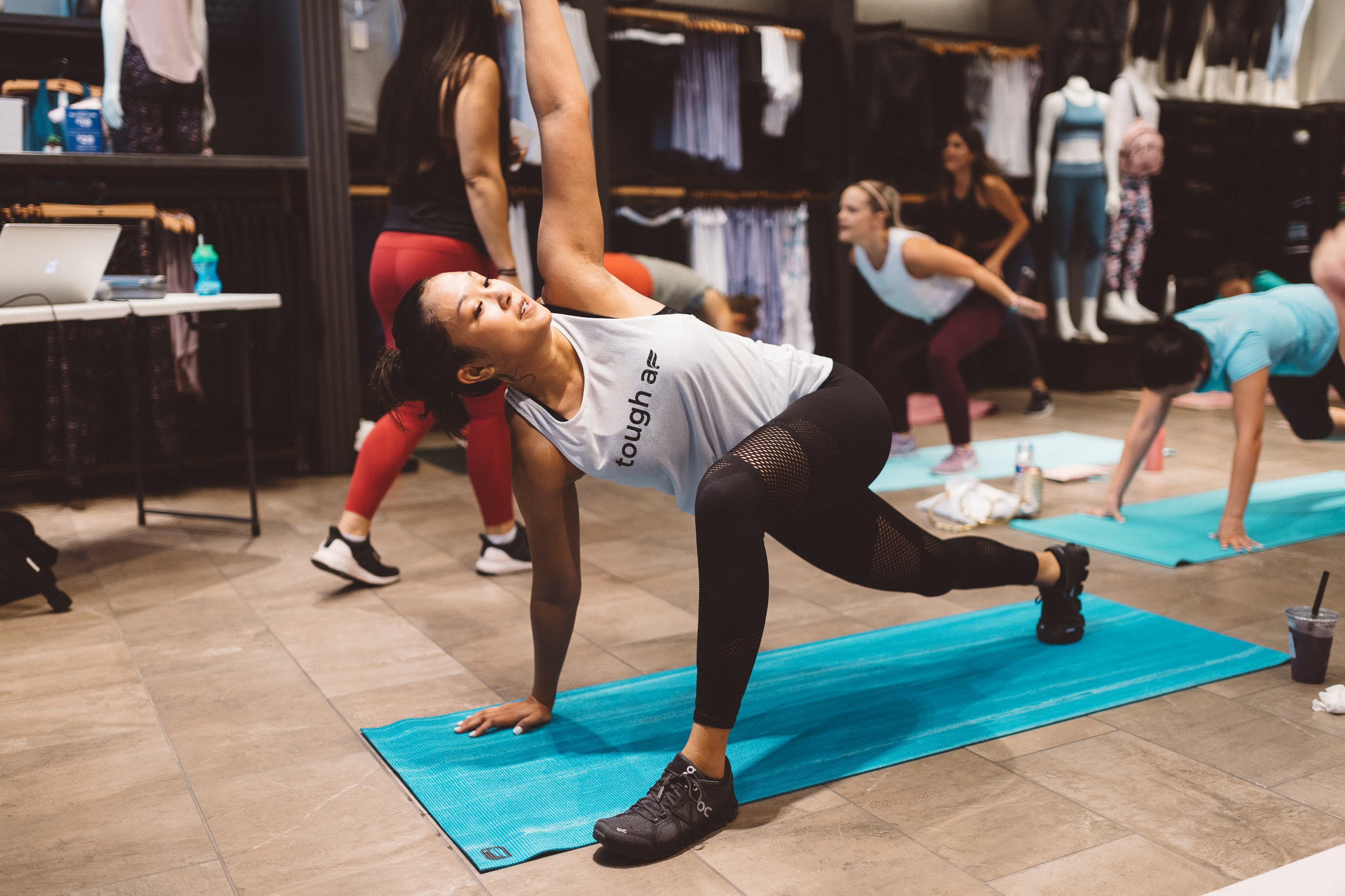 Fabletics bootcamp workout September 2019